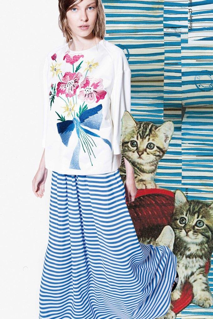 Модели и котики в круизном лукбуке Antonio Marras. Изображение № 1.