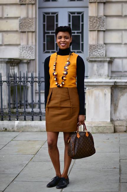 London Fashion Week: Уличный стиль, часть 1. Изображение № 10.