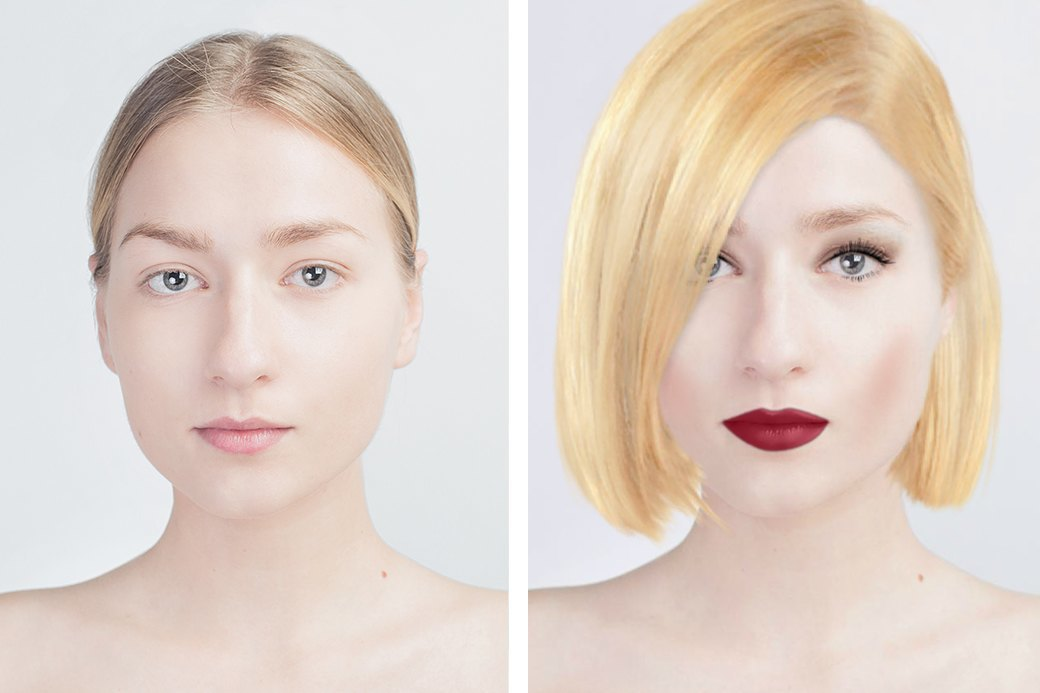 До и после макияжа:  Редакция тестирует  бьюти-приложения. Изображение № 11.