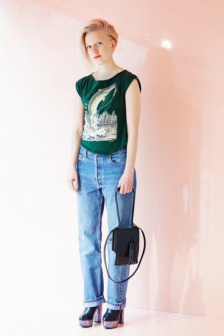 Фэшн-дизайнер Енни Алава  о любимых нарядах. Изображение № 20.