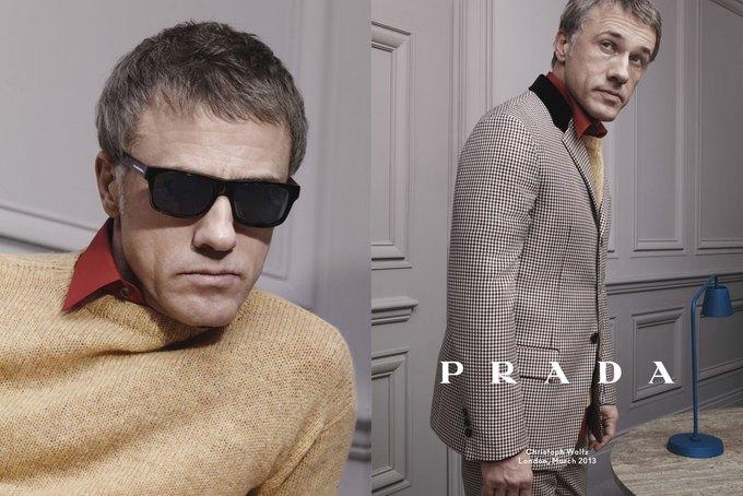 Кристоф Вальц и Бен Уишоу снялись для кампании Prada. Изображение № 3.