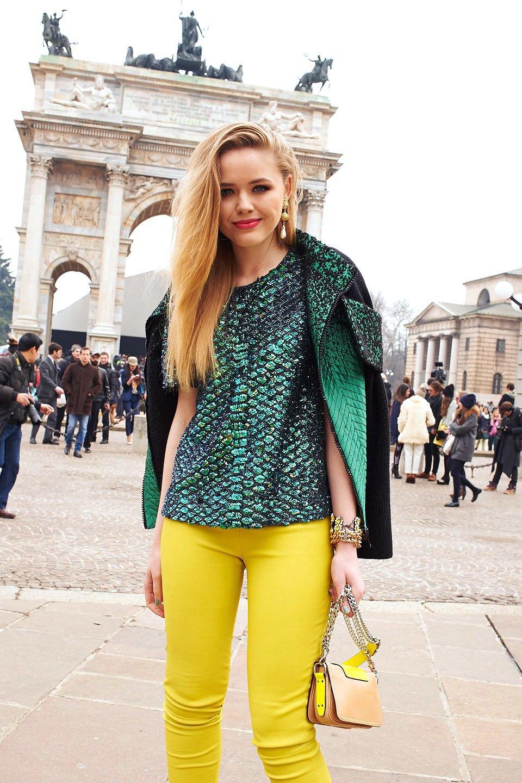 Стритстайл: Неделя моды в Милане,  часть III. Изображение № 26.