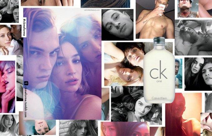 Юбилейная реклама ck one вдохновлена селфи. Изображение № 1.