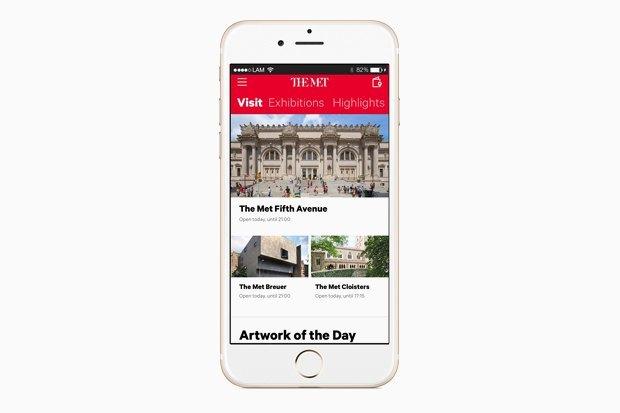 От MoMA до Лувра: Приложения, чтобы попасть в музеи мира не вставая с дивана. Изображение № 3.