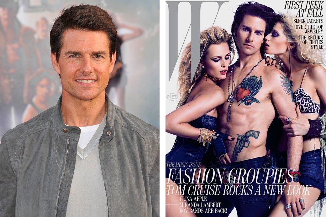 Нереально красивые: Знаменитые мужчины  до и после фотошопа. Изображение № 8.