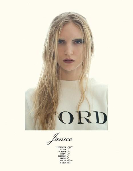 Композитки пяти модельных агентств к Нью-Йоркской неделе моды. Изображение № 51.