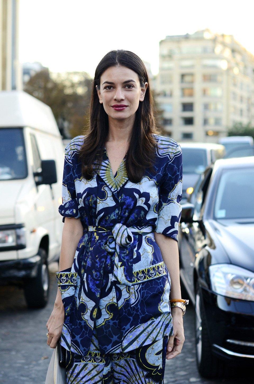 Парень в камуфляже, девушка-Микки-Маус и другие гости Paris Fashion Week. Изображение № 19.