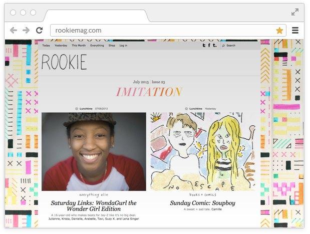 Боевой листок:  10 сайтов для девушек  с активной позицией. Изображение № 12.