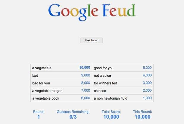 «Google Feud»: викторина  по популярным поисковым запросам. Изображение № 3.