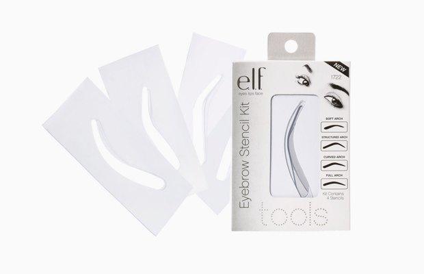 Набор трафаретов e.l.f. Essential Eyebrow Stencil Kit. Изображение № 24.