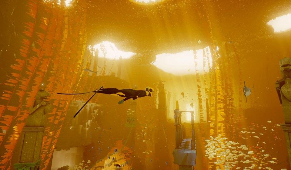 Видеоигра ABZÛ: Медитативное путешествие в глубины океана. Изображение № 5.