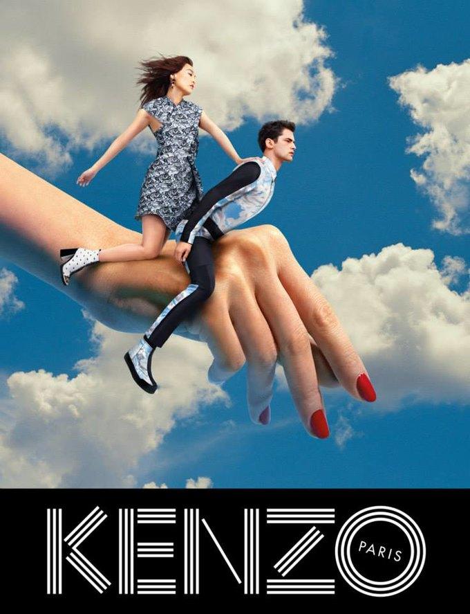 Котики и глаза в новой кампании Kenzo. Изображение № 2.