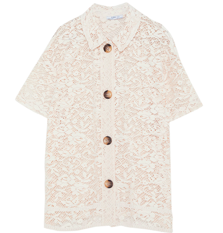 Прозрачные блузки:  От простых до роскошных. Изображение № 3.