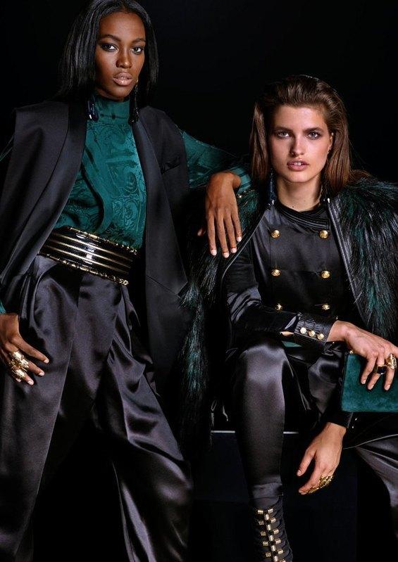 Опубликован полный лукбук коллекции H&M  и Balmain. Изображение № 2.