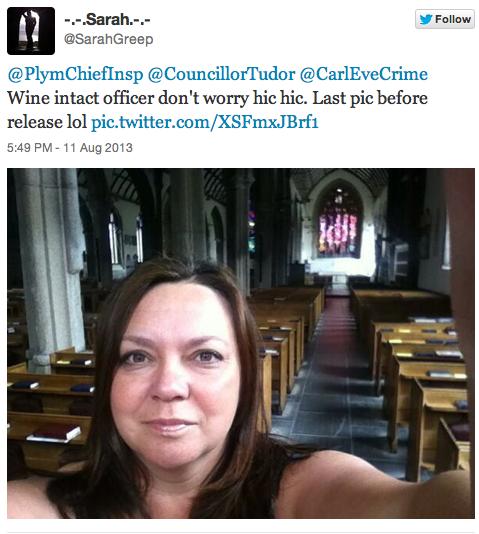 Запертая в церкви девушка просила помощи в твиттере вместо звонка в полицию. Изображение № 1.
