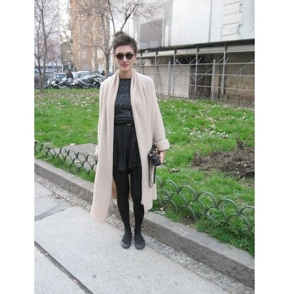 Изображение 7. Milan Fashion Week: день первый — луки.. Изображение № 1.