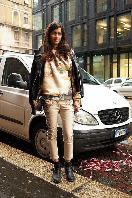 Стритстайл: Неделя моды в Милане,  часть II. Изображение № 8.