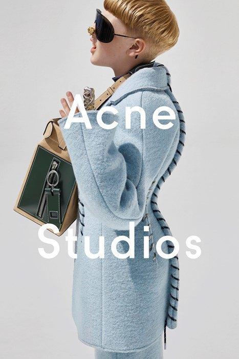 Лицом женской коллекции Acne стал 11-летний мальчик. Изображение № 3.