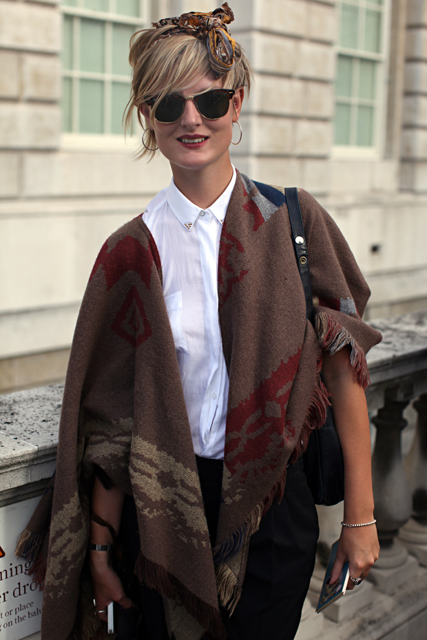 Streetstyle: Неделя моды в Лондоне, часть 1. Изображение № 31.