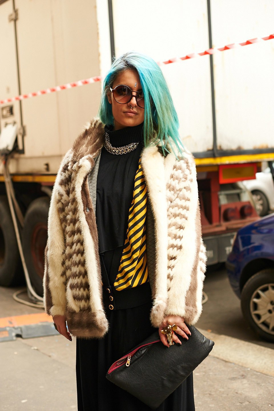Стритстайл:  Неделя моды в Милане,  часть I. Изображение № 23.