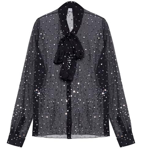 Прозрачные блузки:  От простых до роскошных. Изображение № 5.