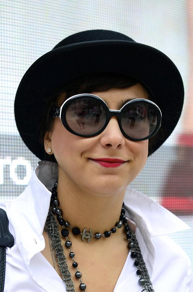 Streetstyle: Неделя моды в Лондоне, часть 2. Изображение № 13.