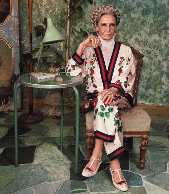 Gucci выпустили кампанию с моделями разных возрастов. Изображение № 16.