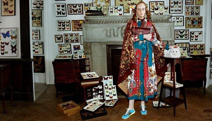 Gucci выпустили новую кампанию, посвящённую коллекционерам. Изображение № 1.