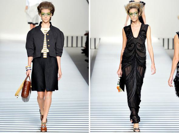 Показы Milan Fashion Week SS 2012: День 2. Изображение № 6.