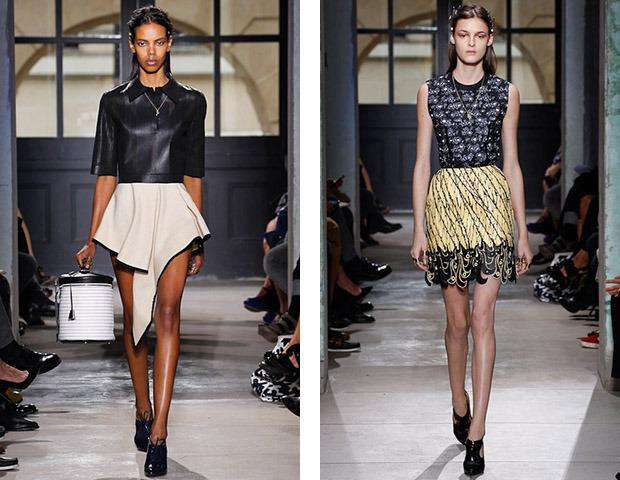 Неделя моды в Париже: Показы Balenciaga, Carven, Rick Owens, Nina Ricci, Lanvin. Изображение № 2.