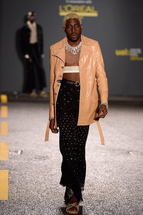 Grace Wales Bonner:  Клеш и короткие куртки по моде 70-х. Изображение № 5.