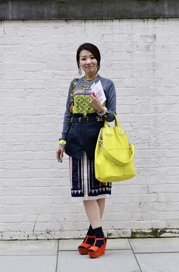 Streetstyle: Неделя моды в Лондоне, часть 2. Изображение № 18.