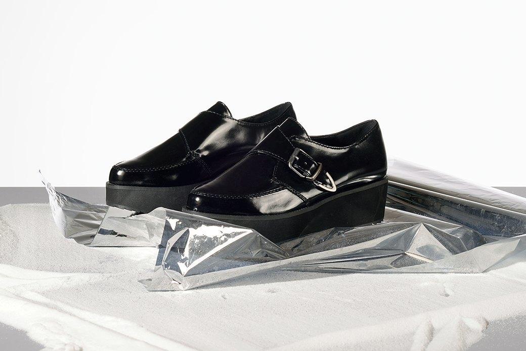 Что носить:  7 пар ботинок  на платформе. Изображение № 4.