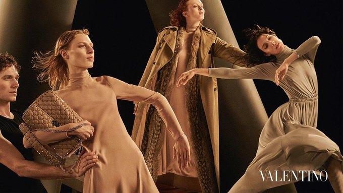 Valentino опубликовали рекламную кампанию, вдохновлённую балетом. Изображение № 4.