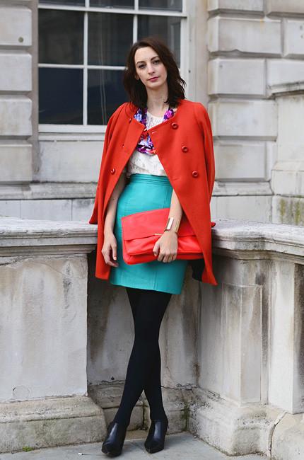 London Fashion Week: Уличный стиль, часть 1. Изображение № 13.