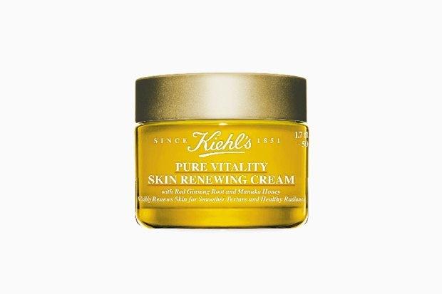 Kiehl's Pure Vitality Skin Renewing Cream. Ещё одна новинка — крем с женьшенем, направленный на обновление и восстановление.  . Изображение № 2.