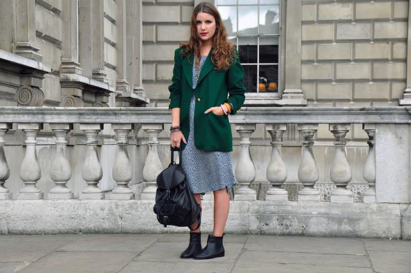 London Fashion Week: Уличный стиль, часть 2. Изображение № 6.