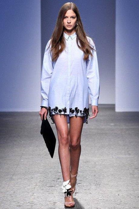 Платья-рубашки  в весенне-летних коллекциях. Изображение № 5.