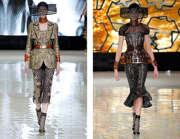 Парижская неделя моды: Показы Chanel, Valentino, Alexander McQueen и Paco Rabanne. Изображение № 23.
