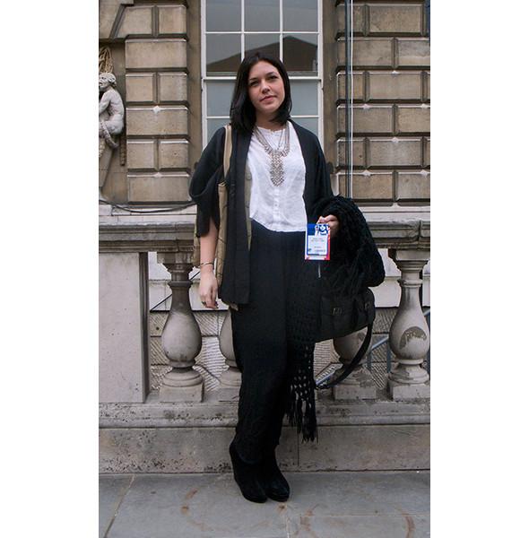 London Fashion Week: день первый — луки. Изображение № 18.