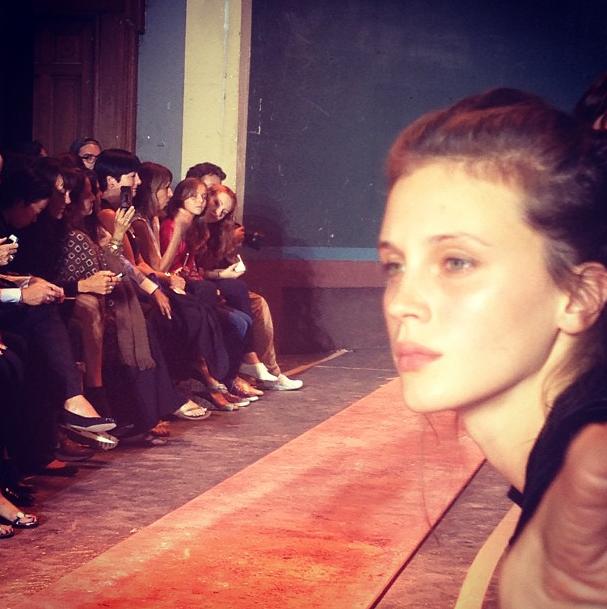 Прямой репортаж  с Paris Fashion Week:  День 1. Изображение № 24.
