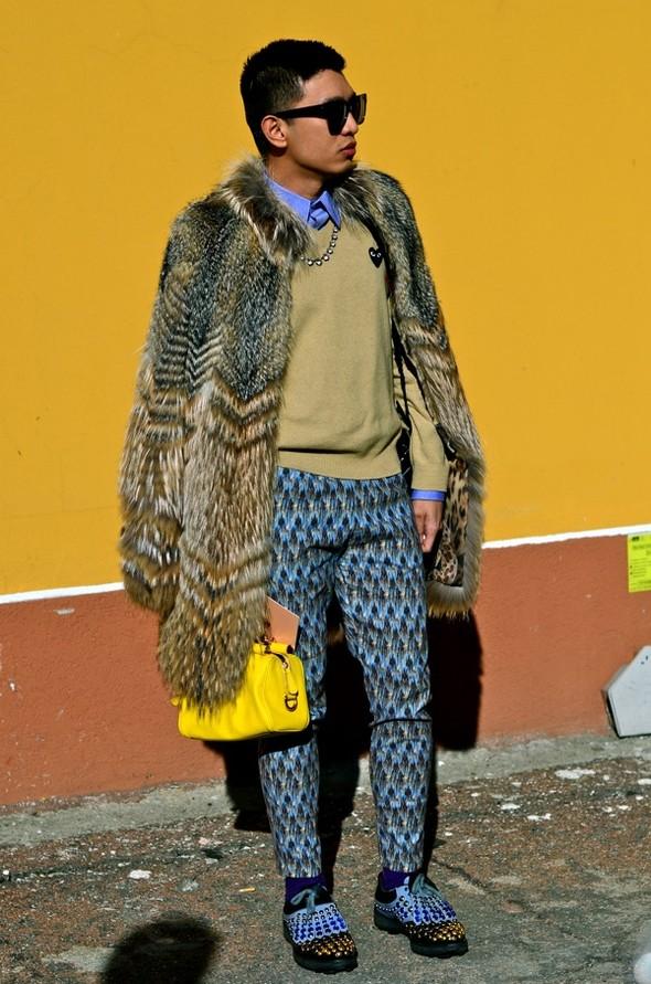 Неделя моды в Милане: Streetstyle. Изображение № 18.