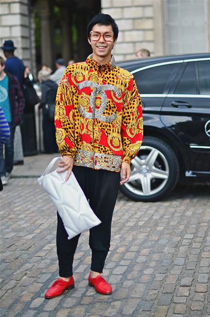 London Fashion Week: Уличный стиль, часть 1. Изображение № 25.