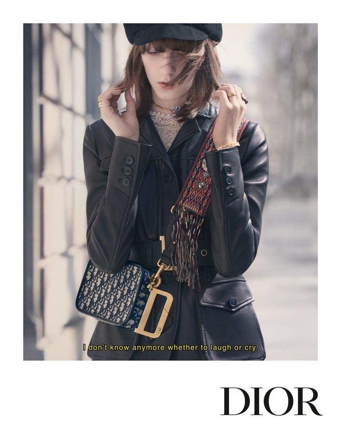 Dior показал кампанию в духе фильмов французской новой волны. Изображение № 5.