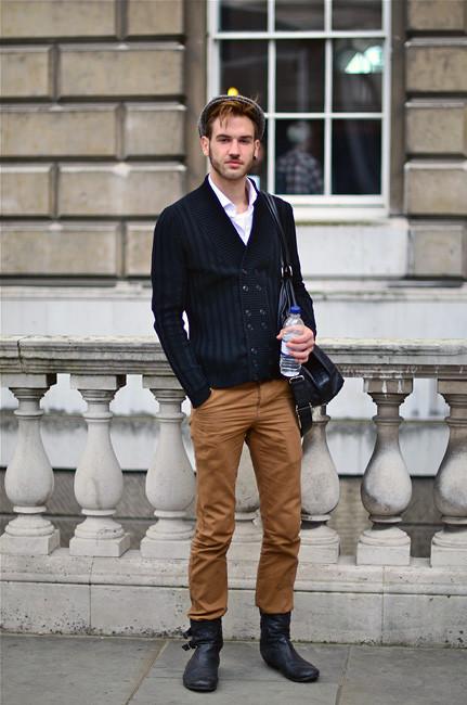 London Fashion Week: Уличный стиль, часть 1. Изображение № 24.