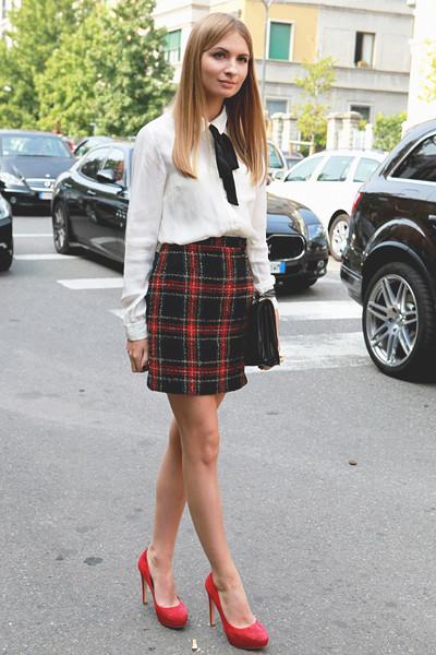 Milan Fashion Week: Уличный стиль, день 3. Изображение № 2.