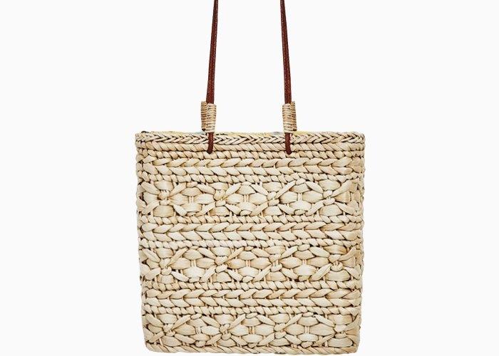 Плетёные сумки для города: 10 моделей от простых до роскошных. Изображение № 10.