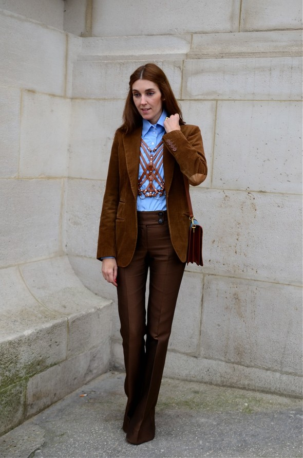 Неделя моды в Париже: Streetstyle. Изображение № 32.