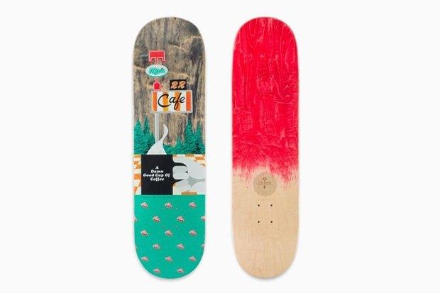 Скейтборды по мотивам «Твин Пикса». Изображение № 5.