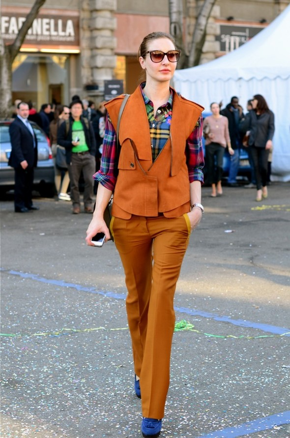 Неделя моды в Милане: Streetstyle. Изображение № 14.